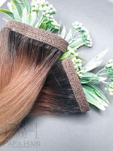Неокрашенные южно-русские волосы 60 см на трессе