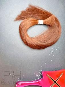 Окрашенные южно-русские волосы 40 см в срезе
