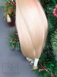 Окрашенные южно-русские волосы 70 см в срезе