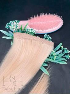 Окрашенные южно-русские волосы 80 см на трессе